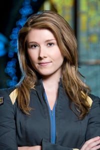 Jewel Staite as Dr. Bryce