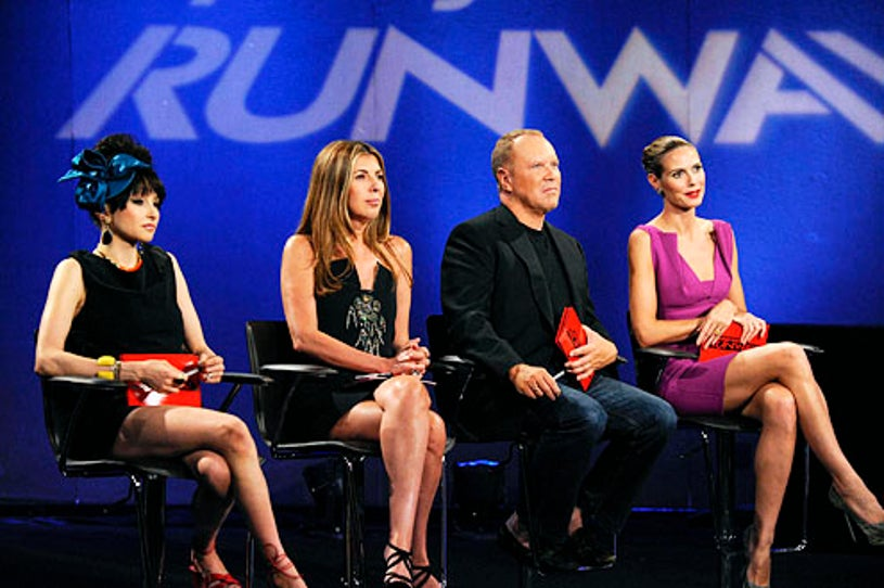"""Project Runway - Season 9 - """"My Pet Project"""" - Stacey Bendet for Alice and Olivia, Nina Garica, Michael Kors and Heidi Klum"""