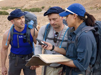 "Expedition Impossible - Season 1 - ""Sun! Sand! Sahara!"" - Jim Vaglica, Robert Robillard and Dani Henderson"