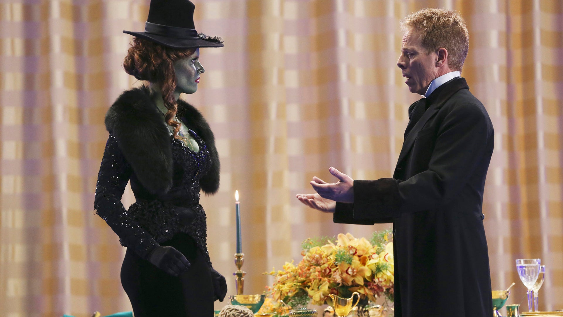 Rebecca Mader and Greg Germann, Once Upon a Time