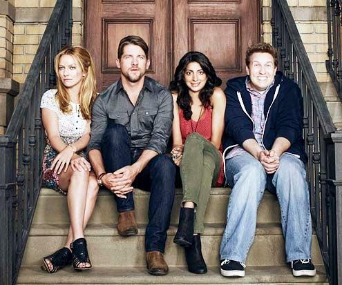 Weird Loners - Season 1 - Becki Newton, Zachary Knighton, Meera Khumbhani and Nate Torrence