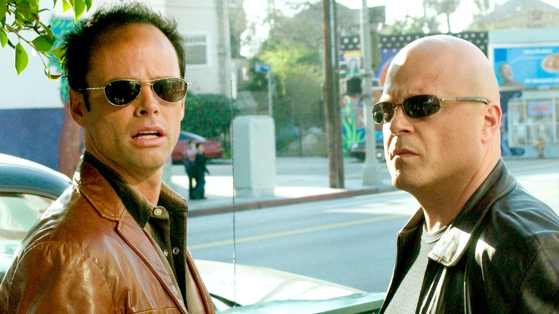 Walton Goggins and Michael Chiklis, The Shield
