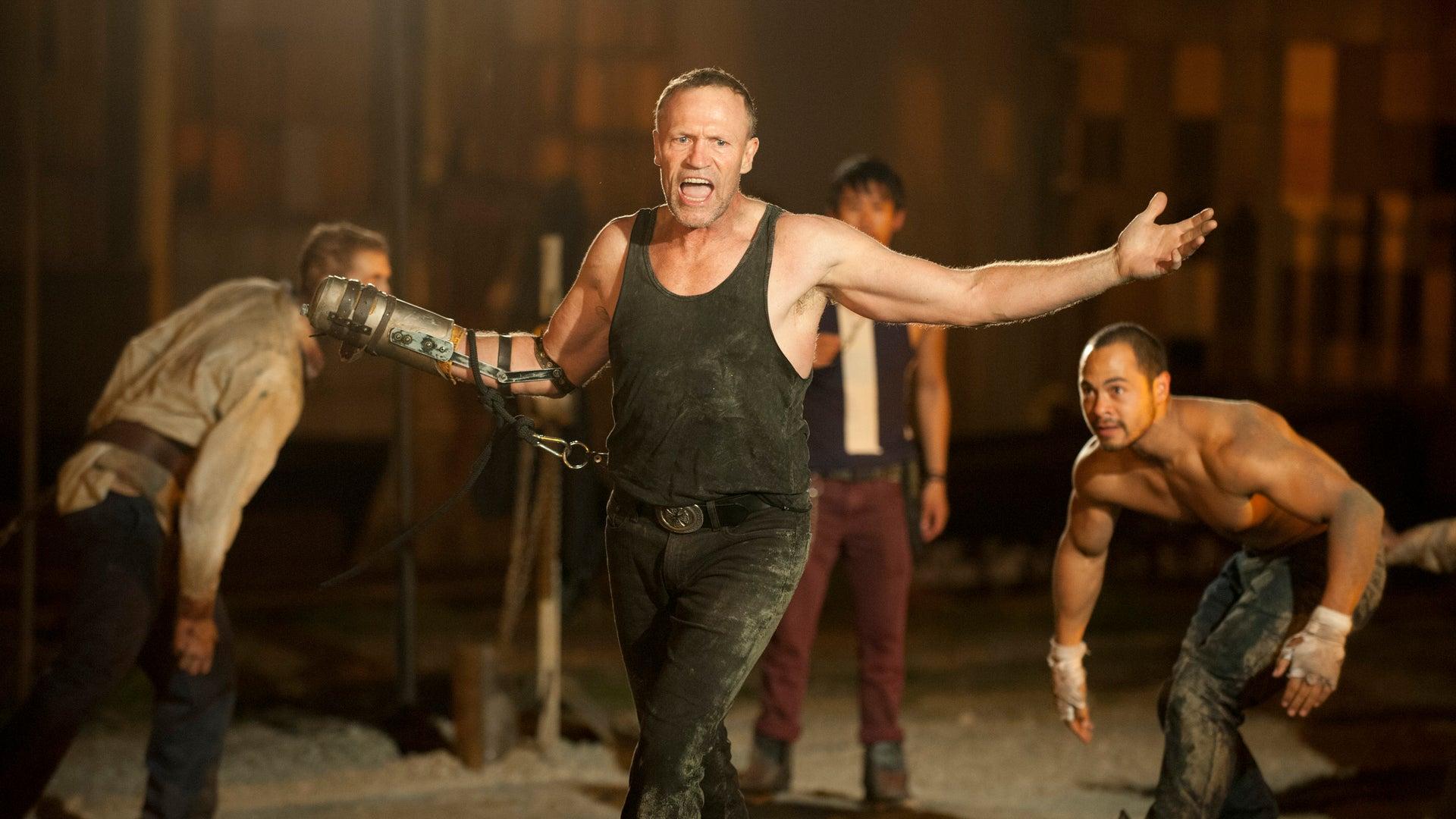 Merle Dixon (Michael Rooker) and Martinez (Jose Pablo Cantillo), The Walking Dead