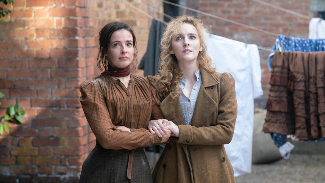 Laura Donnelly and Ann Skelly, The Nevers