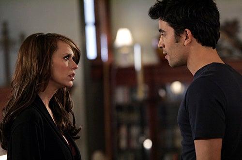 "Ghost Whisperer - ""The Collector"" - Jennifer Love Hewitt as Melinda, Ignacio  Serricchio as Gabriel"