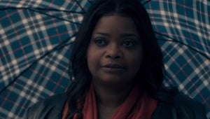 Watch Truth Be Told Stars Octavia Spencer and Aaron Paul Fail at Spotting Lies About Each Other