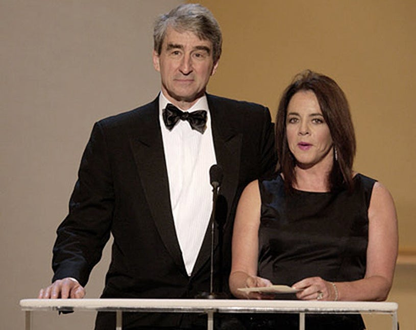Sam Waterston & Stockard Channing - The 8th Annual Screen Actors Guild Awards in Los Angeles, March 10, 2002