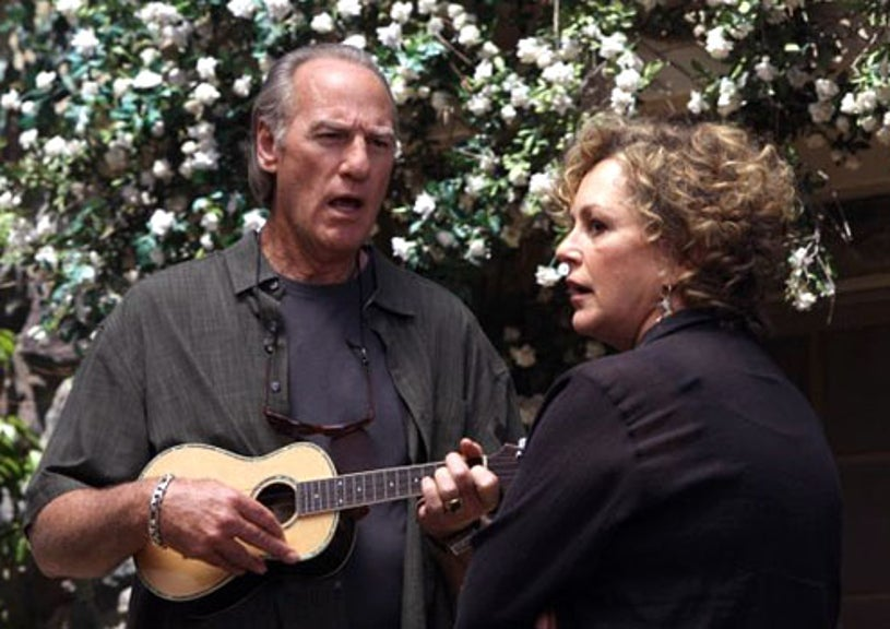 "Parenthood - Season 1 - ""Lost and Found"" - Craig T. Nelson as Zeek Braverman and Bonnie Bedelia as Camille Braverman"