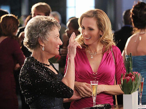"CSI - Season 11 - ""The Two Mrs. Grissoms"" - Marlee Matlin, Phyllis Frelich"