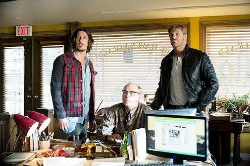 "Haven - Season 3 - ""Stay"" - Eric Balfour, John Dunsworth and Adam ""Edge"" Copeland"