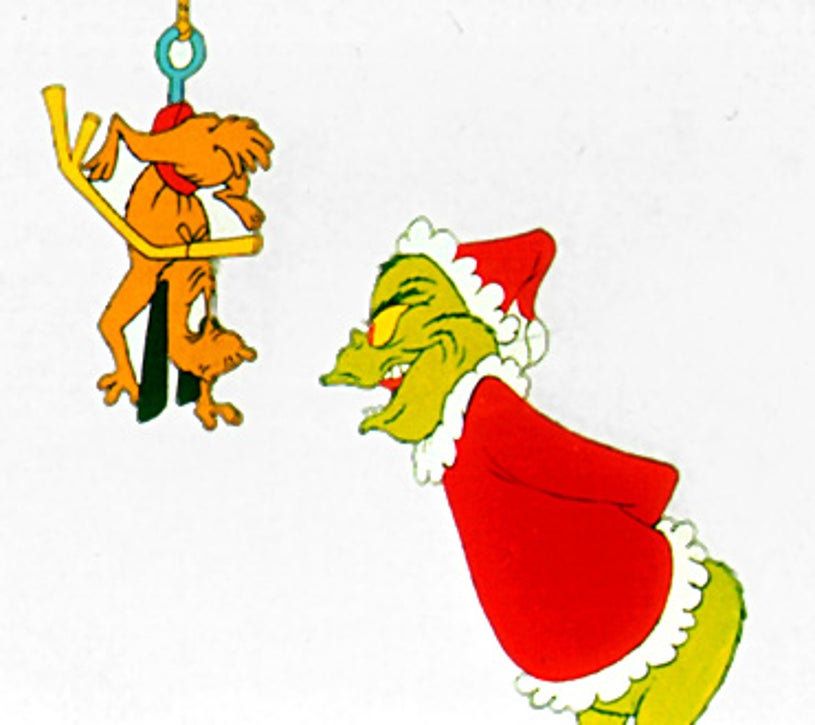 How the Grinch Stole Christmas - Max and The Grinch