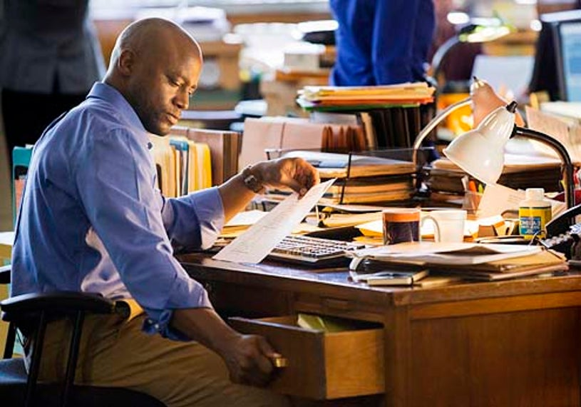 """Murder in the First - Season 1 - """"Pilot"""" -Taye Diggs"""