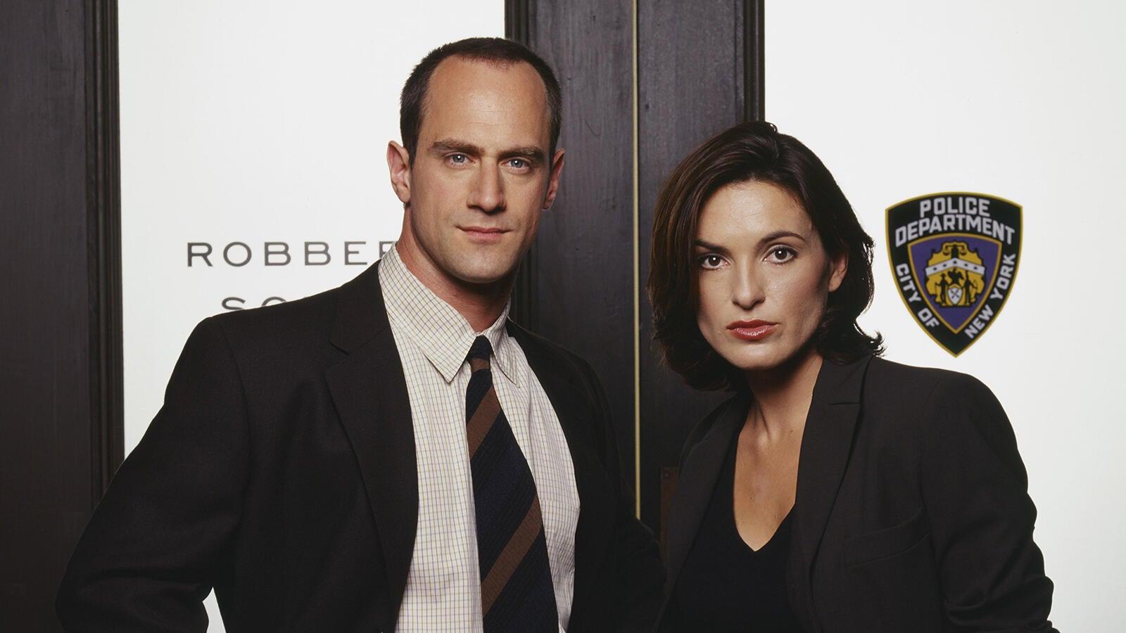 Christopher Meloni and Mariska Hargitay, Law & Order: SVU