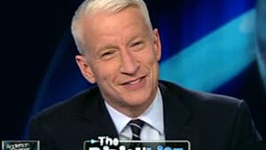 VIDEO: Anderson Cooper Suffers Uncontrollable Giggling Fit (Again) on AC360
