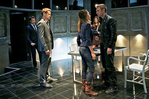 "Nikita - Season 3 - ""Consequences"" - Noah Bean, Shane West, Maggie Q, Lyndsy Fonseca and Devon Sawa"
