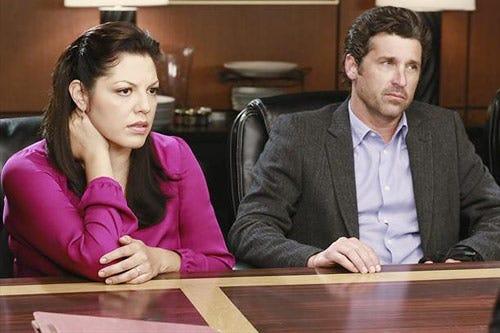 """Grey's Anatomy - Season 9 - """"Second Opinion"""" - Sara Ramirez, Patrick Dempsey"""