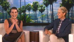 VIDEO: Ellen DeGeneres of Course Made Scream Queens' Lea Michele Scream in Terror