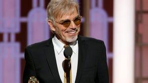 """Billy Bob Thornton Reveals Bob Odenkirk """"Feud"""" During Golden Globes Speech"""