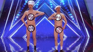 America's Got Talent: Try Not to Cringe At This Naked, Frying Pan Acrobatic Performance
