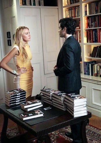 "Gossip Girl - Season 5 - ""Memoirs of An Invisible Dan"" - Blake Lively and Penn Badgley"