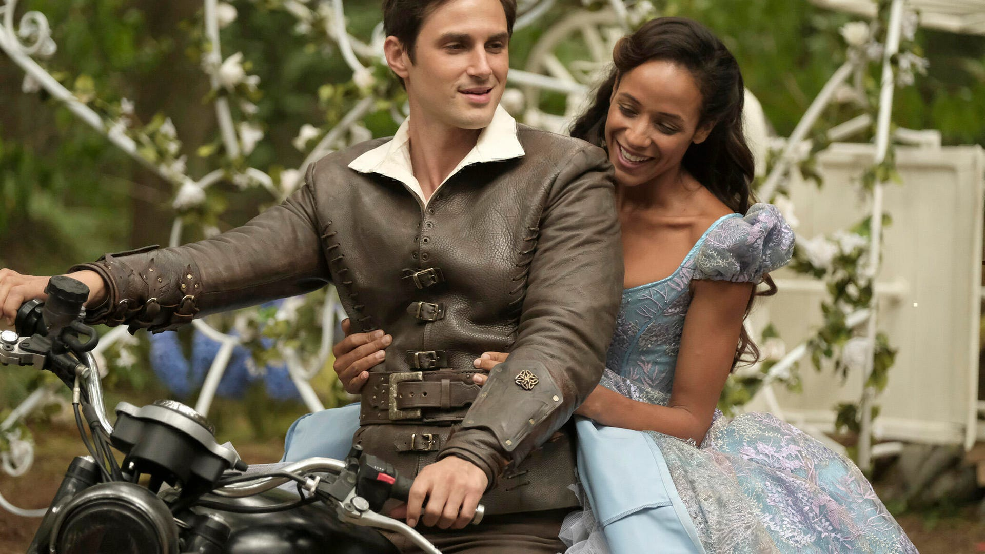 Andrew J. West and Dania Ramirez, Once Upon a Time
