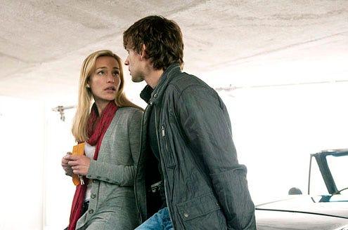 """Covert Affairs - Season 2 - """"Letter Never Sent"""" - Piper Perabo and Christopher Gorham"""