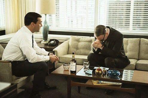 "Mad Men - Season 5 - ""Commissions and Fees"" - Jon Hamm and Jared Harris"
