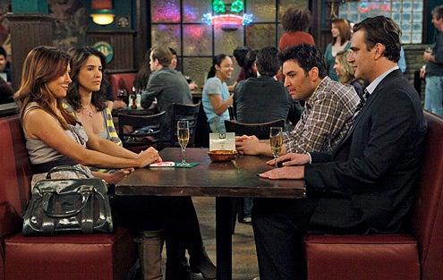 "How I Met Your Mother - Season 5 - ""Doppelgangers"" - Cobie Smulders, Alyson Hannigan, Josh Radnor, Jason Segel"