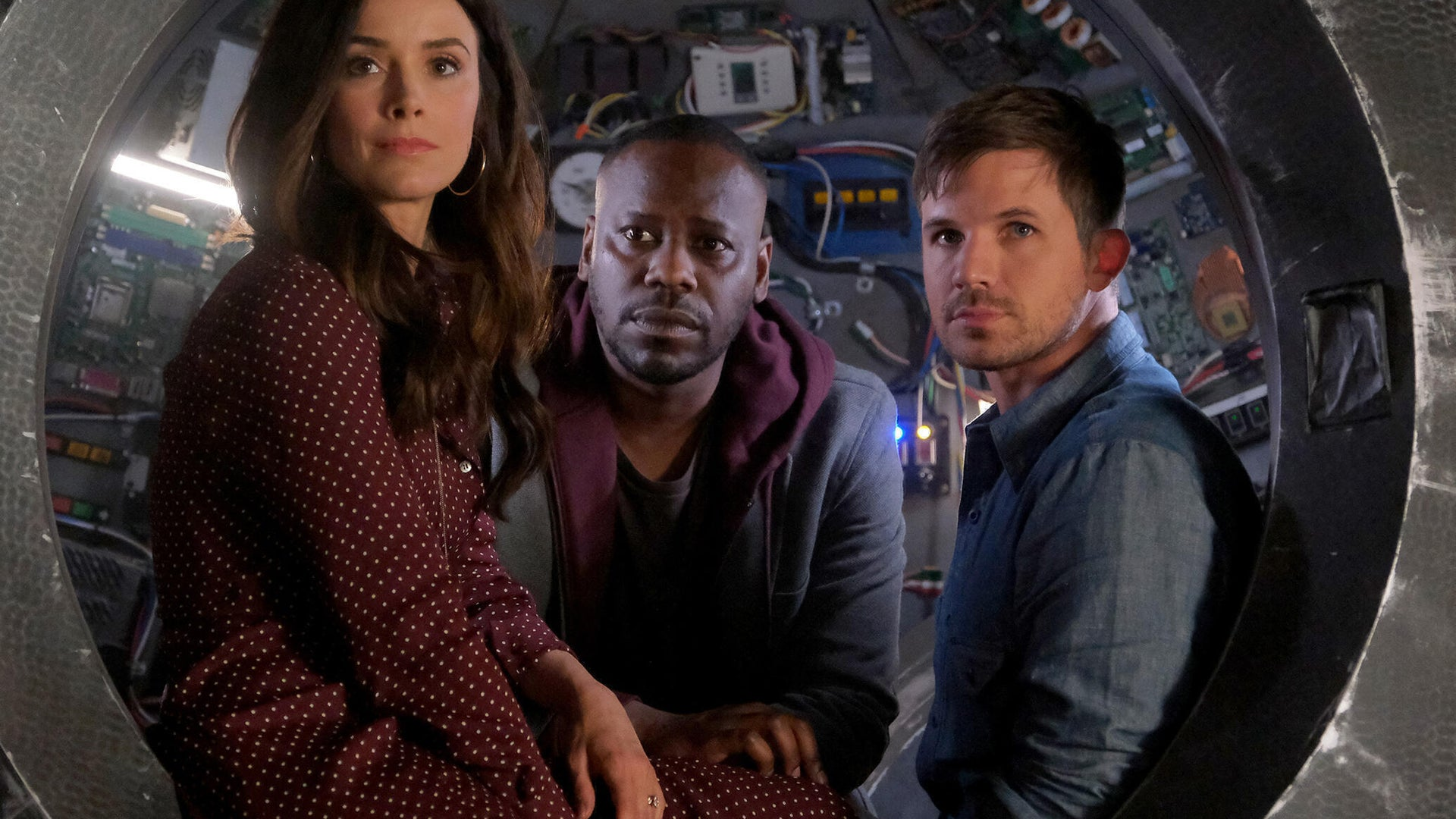 Abigail Spencer, Malcolm Barrett, Matt Lanter; Timeless