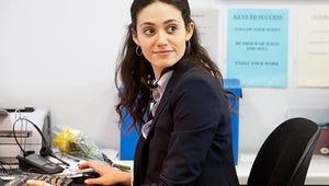 First Look: Fiona's Shameless New Desk Job