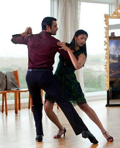 "Royal Pains - Season 2 - ""Listen to the Music"" - Gilles Marini as Niko and Reshma Shetty as Divya Katdare"