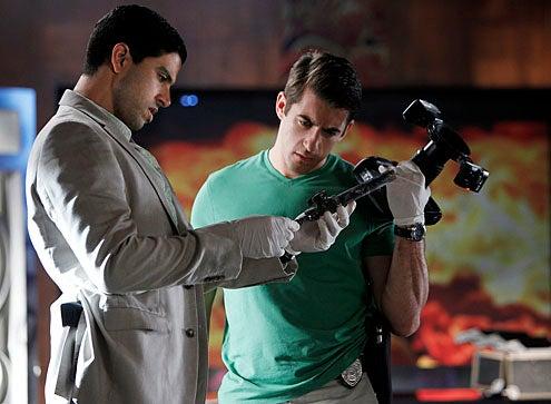 "CSI: Miami - Season 10 - ""Stiff"" - Adam Rodriguez as Eric Delko and Jonathan Togo as Ryan Wolfe"