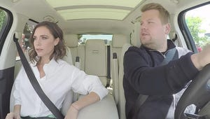 Victoria Beckham and James Corden Spoof the Movie Mannequin Because, Why Not?