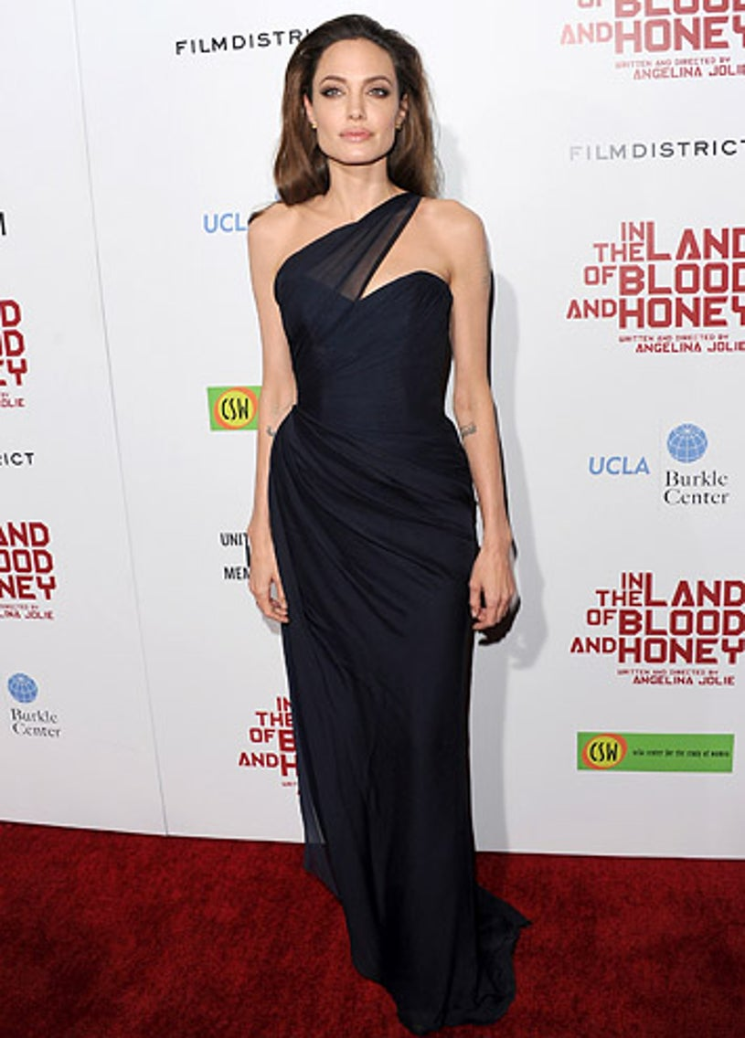 """Angelina Jolie - The """"In the Land of Blood and Honey"""" premiere, December 8, 2011"""