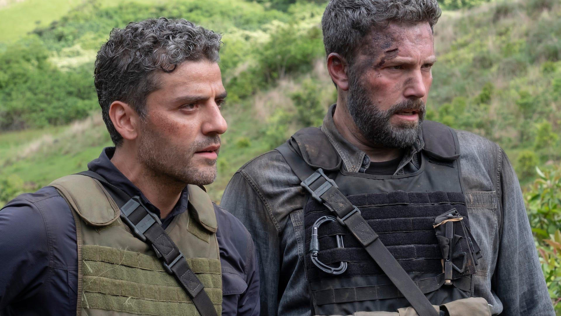 Oscar Isaac, Ben Affleck; Triple Frontier
