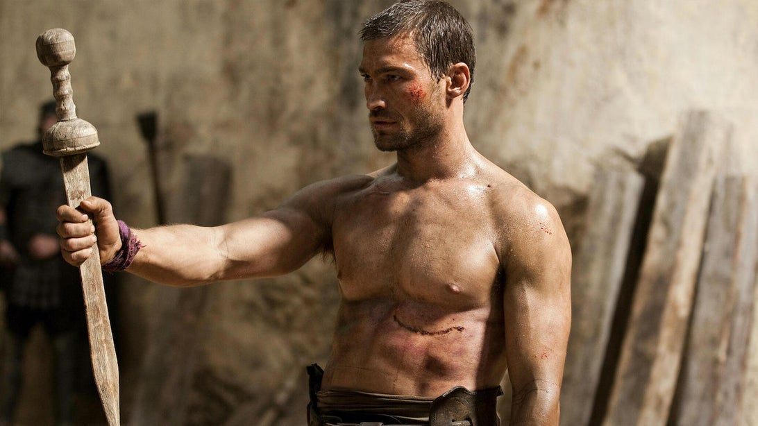 Andy Whitfield, Spartacus: Blood and Sand