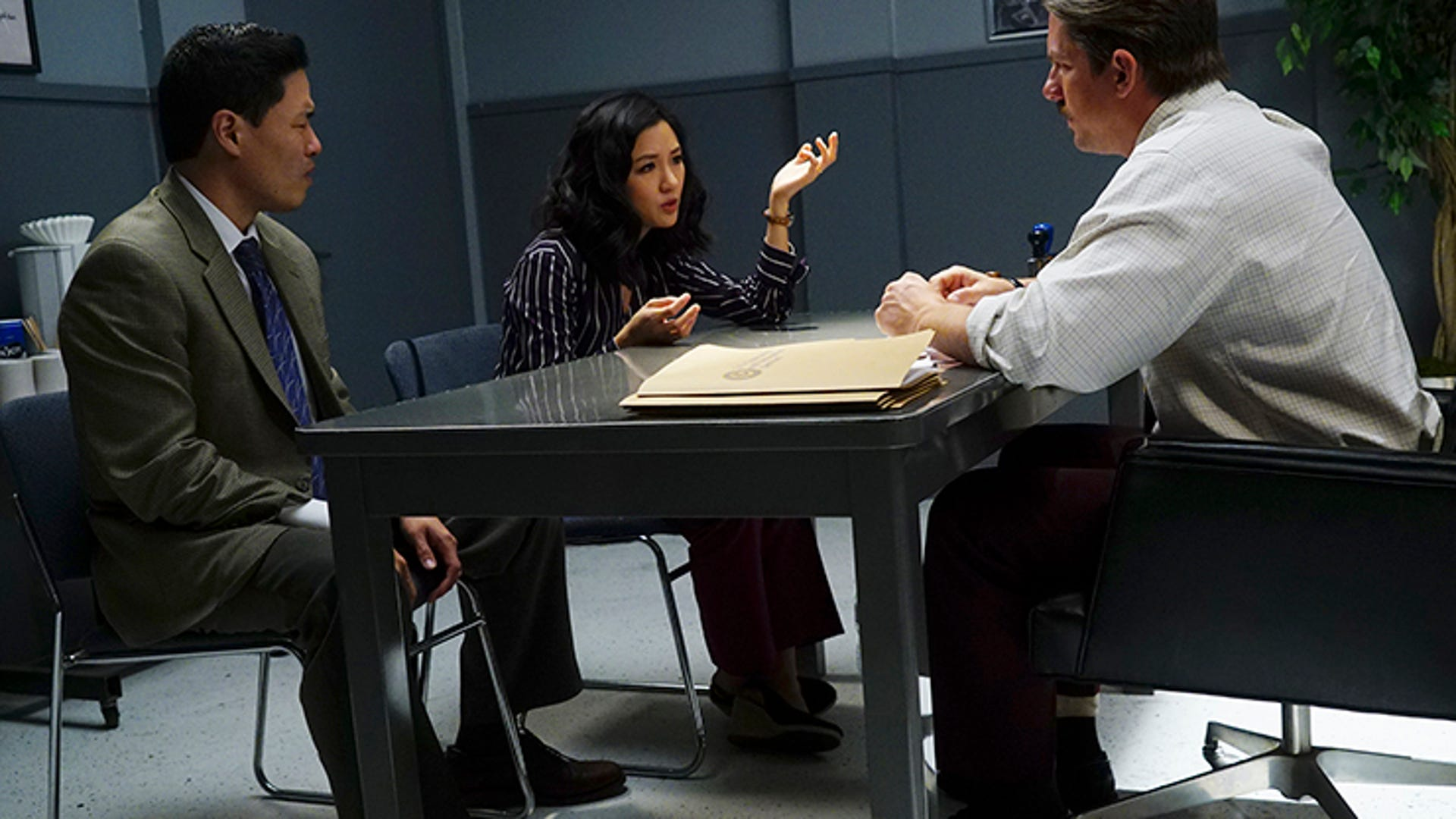 Randall Park, Constance Wu and Zachary Knighton, Fresh Off the Boat