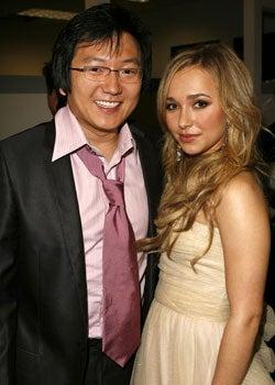 Masi Oka and Hayden Panettiere - 6th Annual GM Ten, February 20, 2007