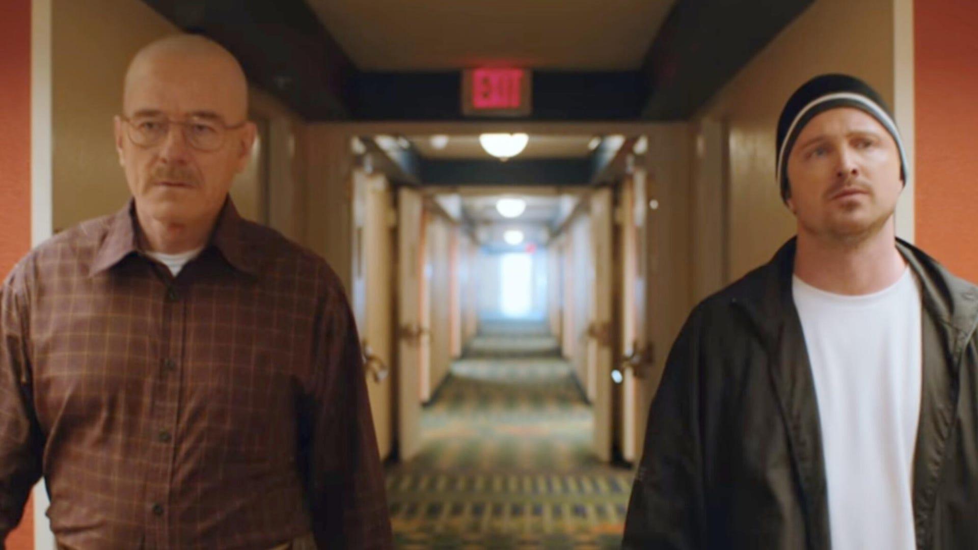 Bryan Cranston and Aaron Paul, El Camino: A Breaking Bad Movie