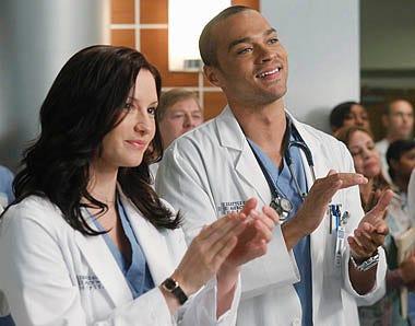 "Grey's Anatomy - Season 7 - ""With You I'm Born Again"" - Chyler Leigh, Jesse Williams"