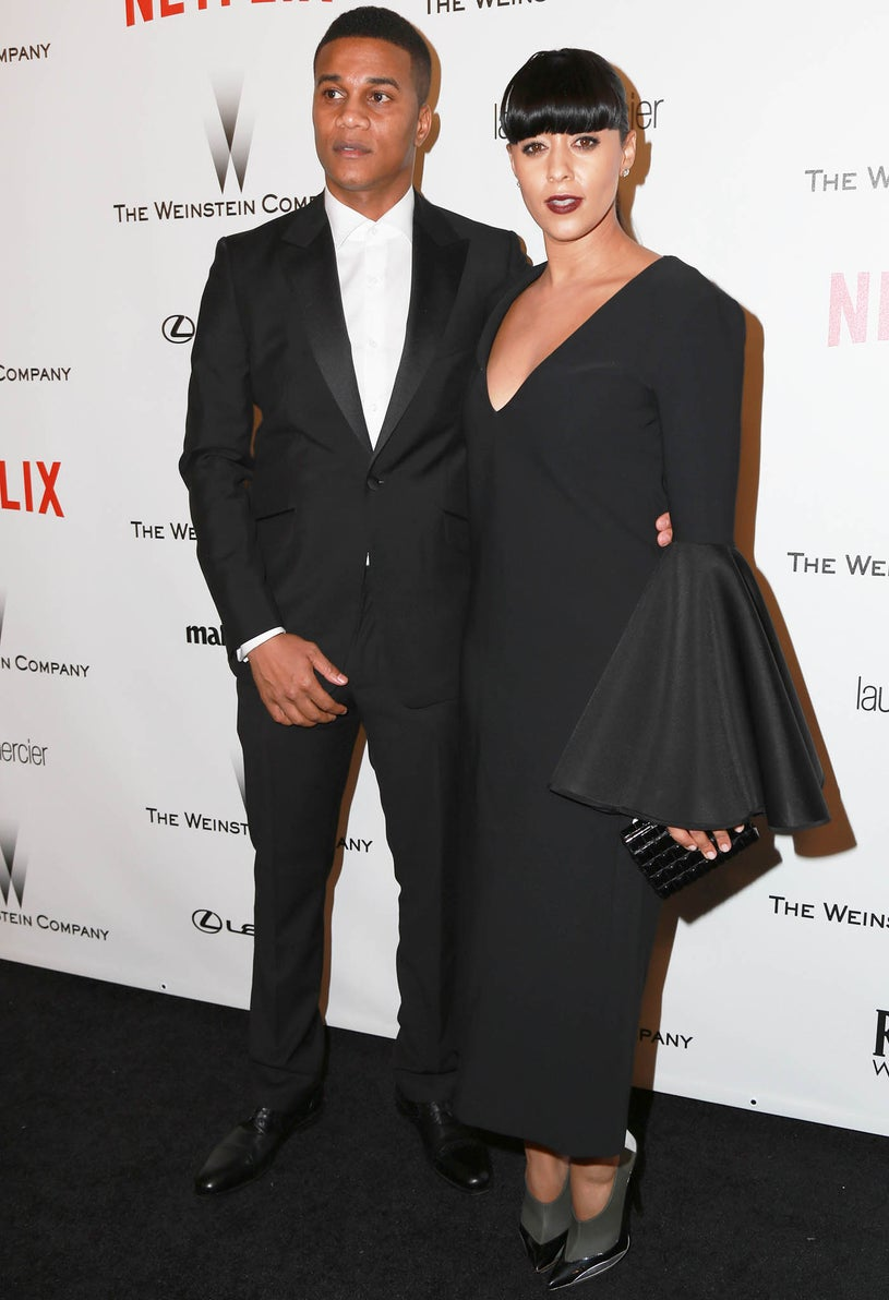 Cory Hardrict and Tia Mowry - Weinstein Company and Netflix Golden Globes After Party in Beverly Hills, California, January 11, 2015