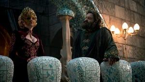Emerald City's Costume Designer Reveals the Magic Behind Lady Ev's Magnificent Masks