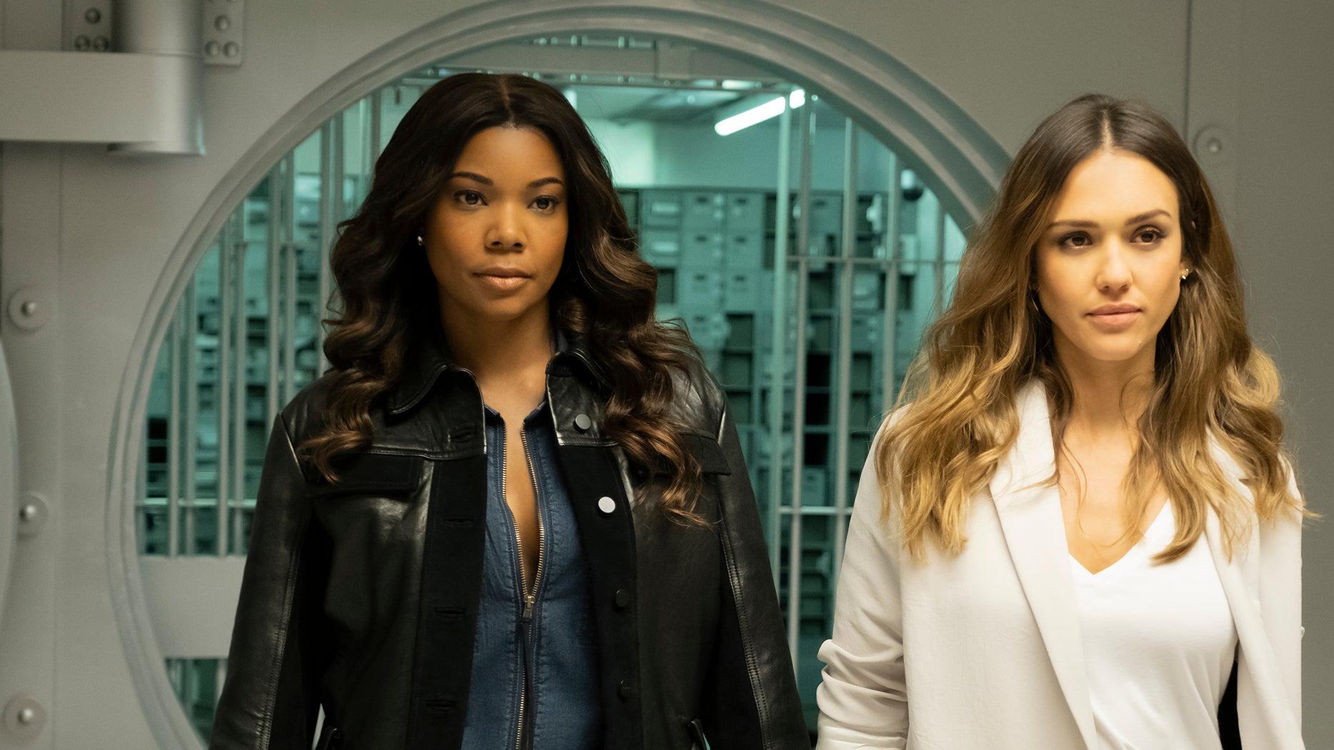 Gabrielle Union and Jessica Alba, LA's Finest