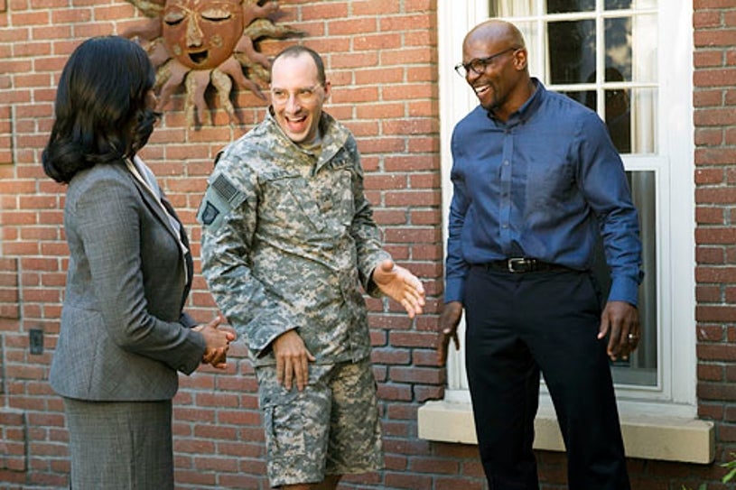 Arrested Development - Season 4 - Garcelle Beauvais, Tony Hale and Terry Crews