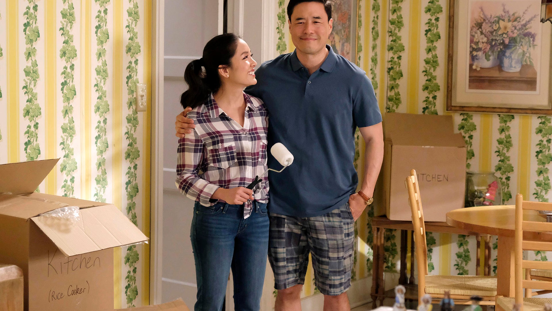 Constance Wu, Randall Park; Fresh Off the Boat