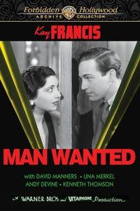 Man Wanted as Harper