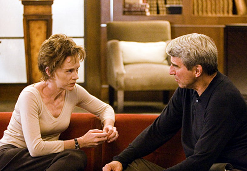 """Masters of Science Fiction - """"A Clean Escape"""" - Judy Davis as Dr. Evans, Sam Waterston as Robert Havelman"""