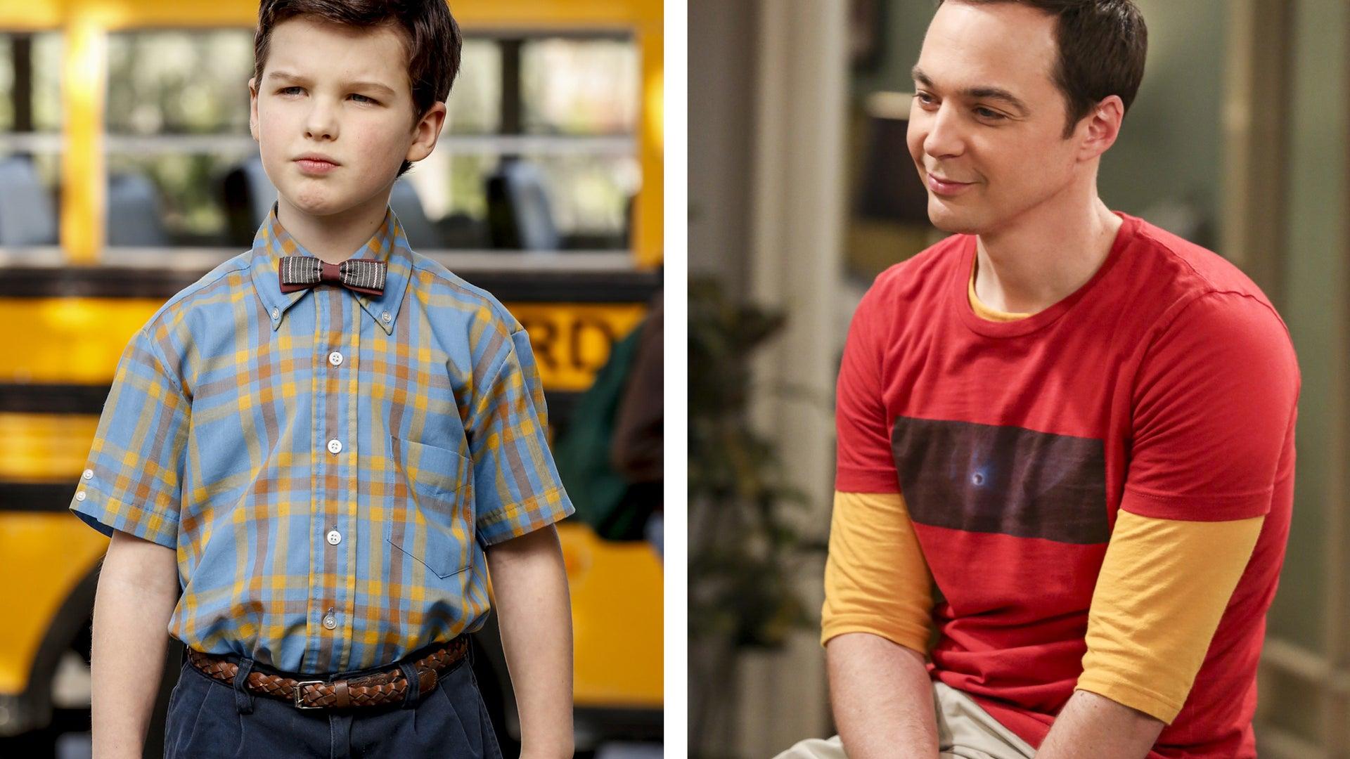 Iain Armitage, Young Sheldon, Jim Parsons, The Big Bang Theory