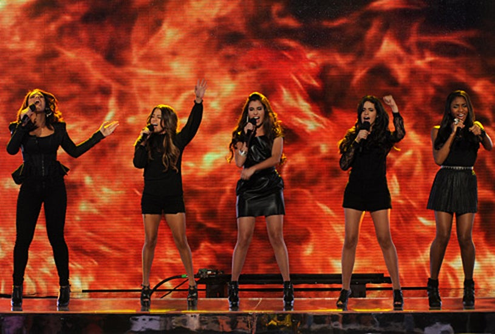 "The X Factor - Season 2 - ""Top 8"" - Fifth Harmony"