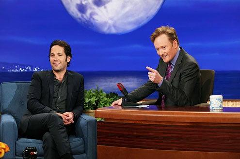 Conan - Paul Rudd and Conan O'Brien